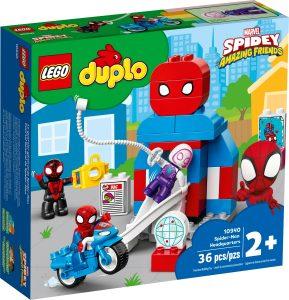 lego 10940 spider mans hauptquartier