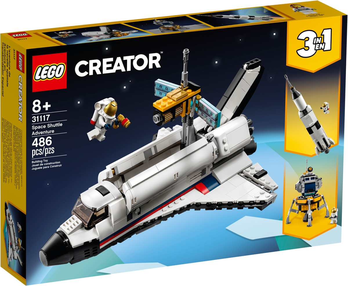 lego 31117 spaceshuttle abenteuer