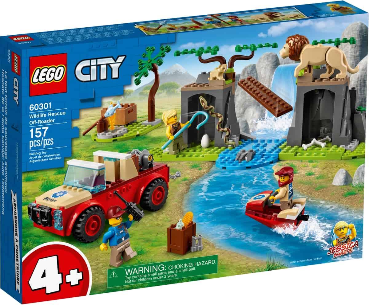 lego 60301 tierrettungs gelandewagen
