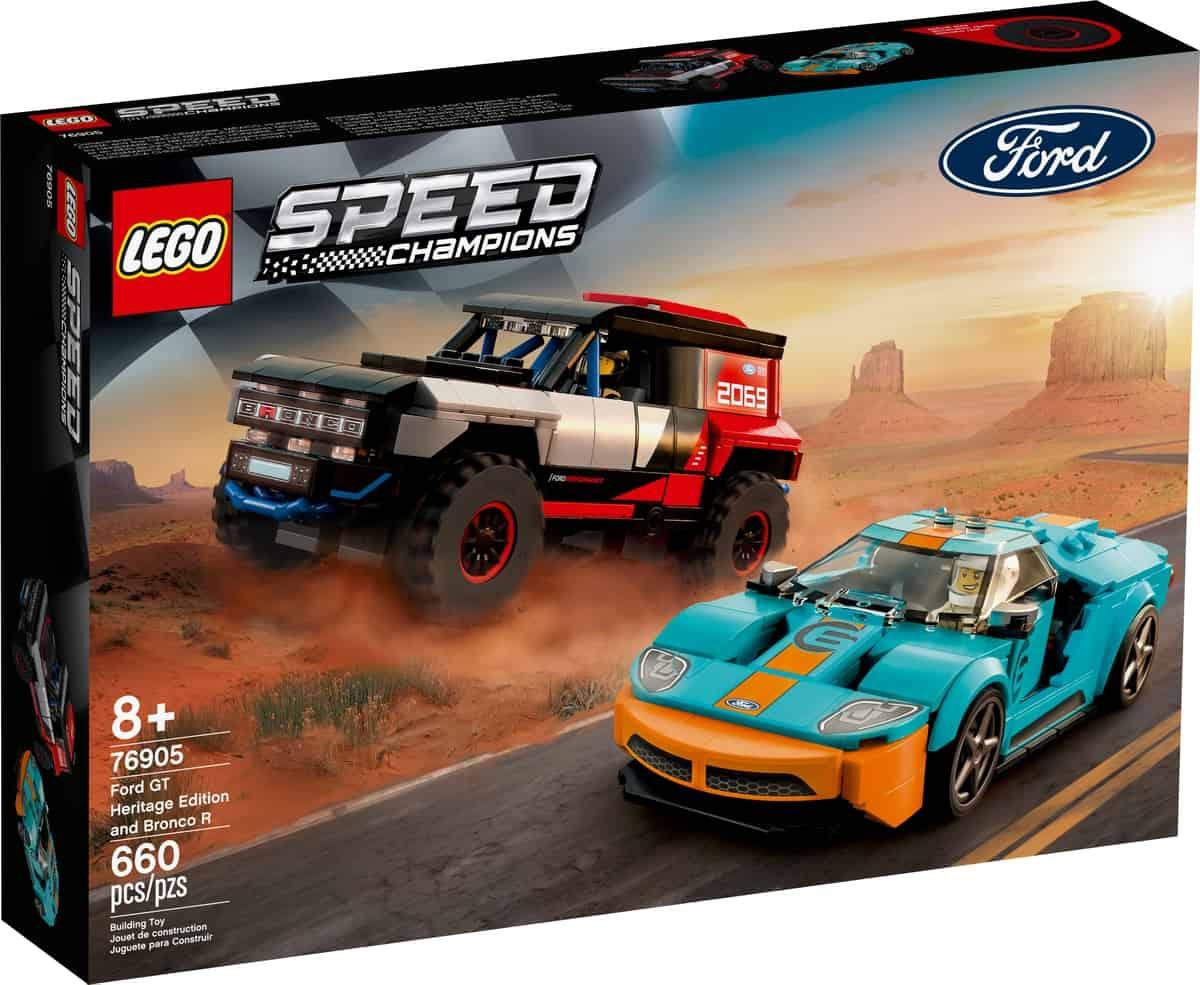 lego 76905 ford gt heritage edition und bronco r