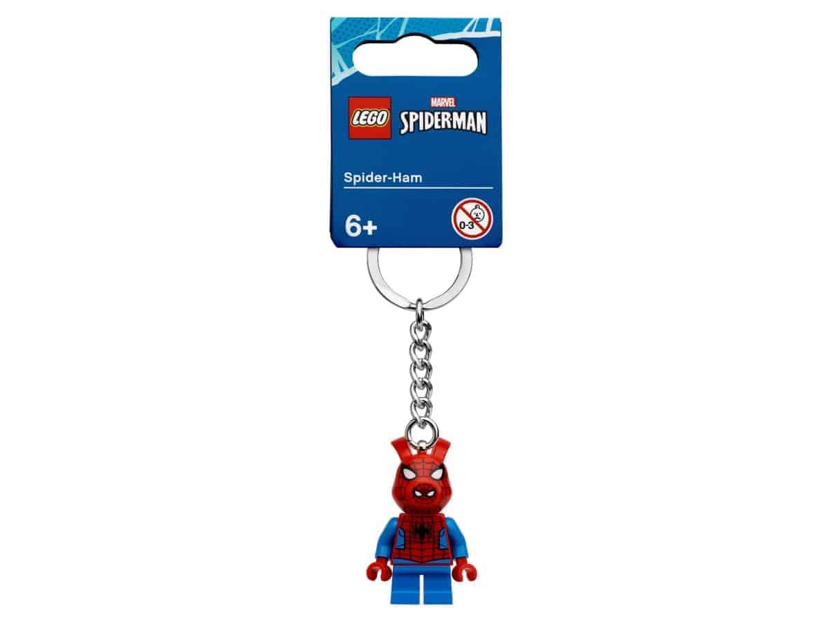 lego 854077 schlusselanhanger mit spider ham