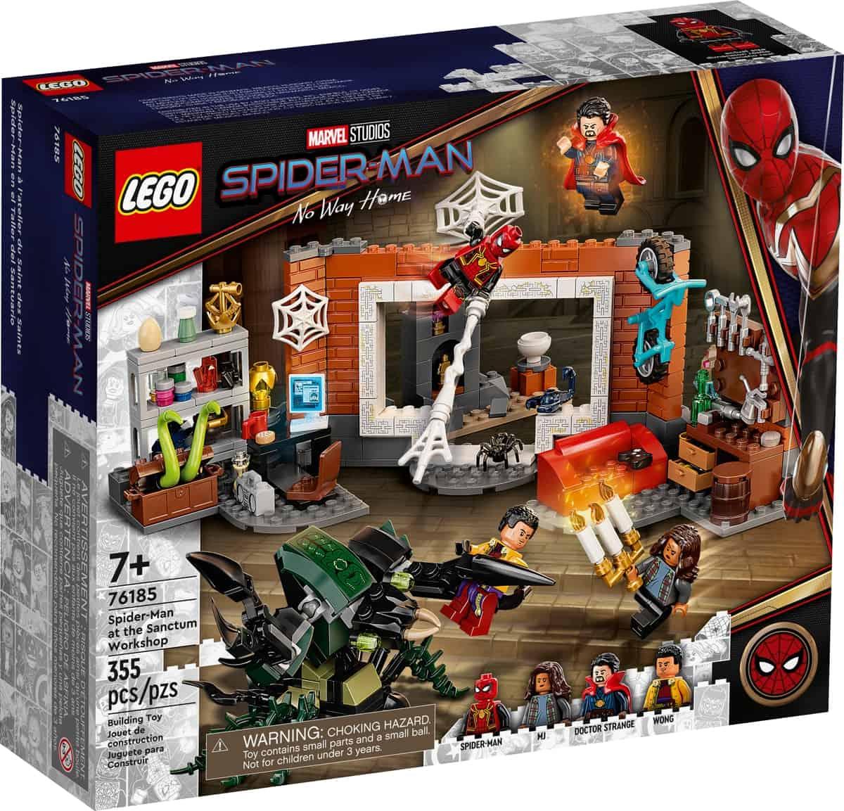 lego 76185 spider man in der sanctum werkstatt
