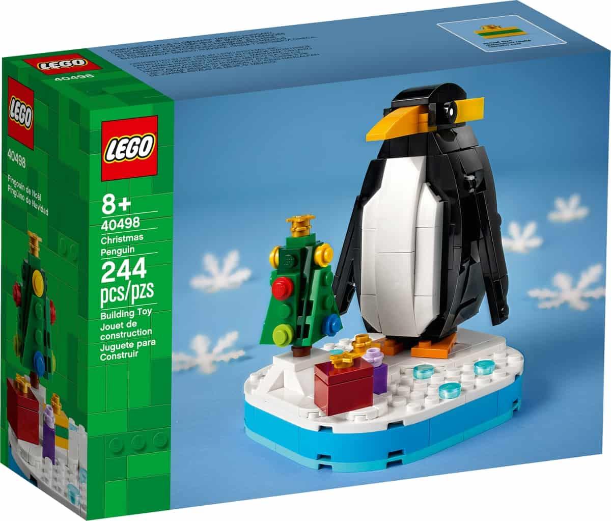 lego 40498 weihnachtspinguin