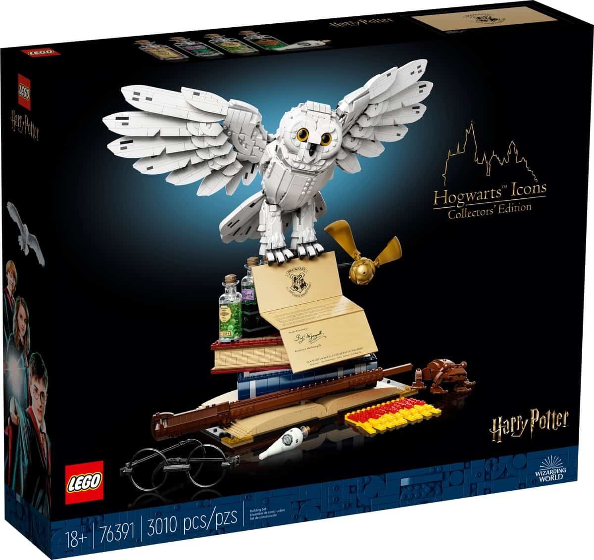 lego 76391 hogwarts ikonen sammler edition