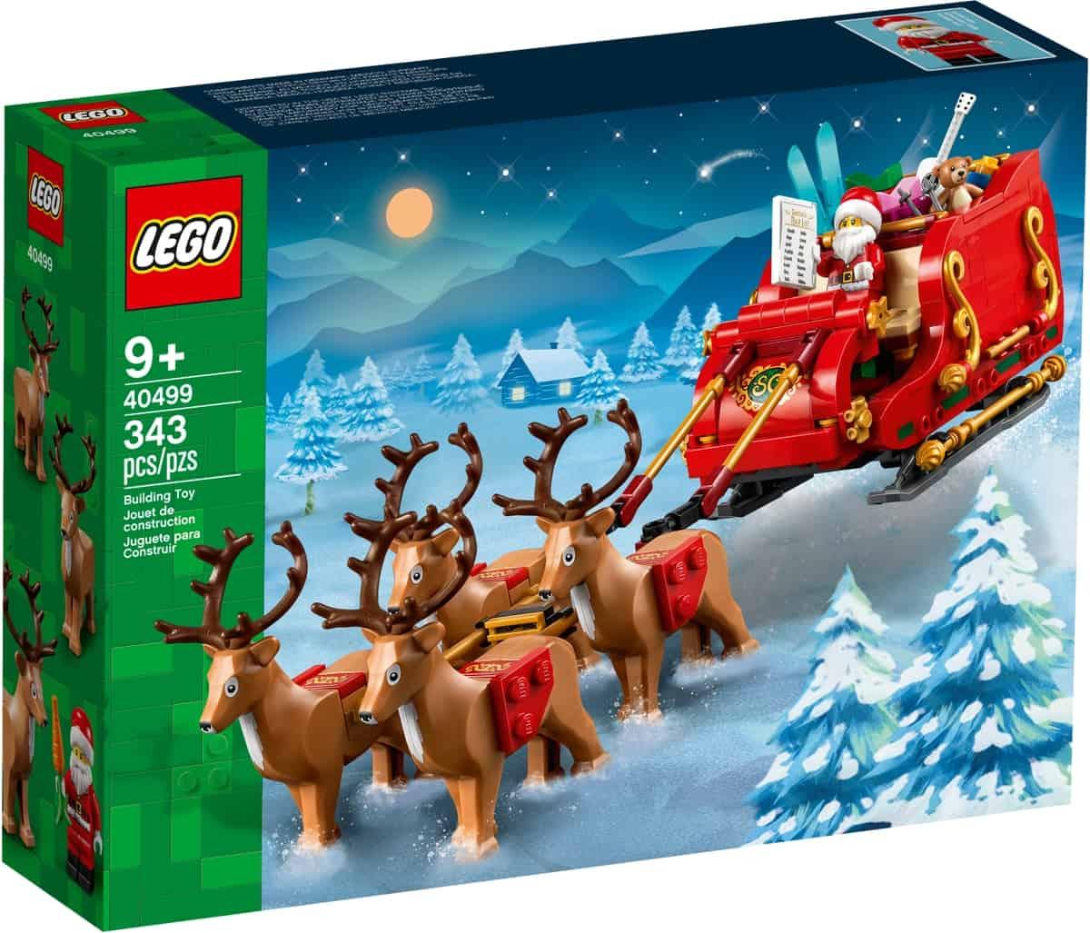 lego 40499 schlitten des weihnachtsmanns