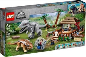 lego 75941 indominus rex vs ankylosaurus