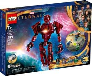 lego 76155 marvel the eternals in arishems schatten